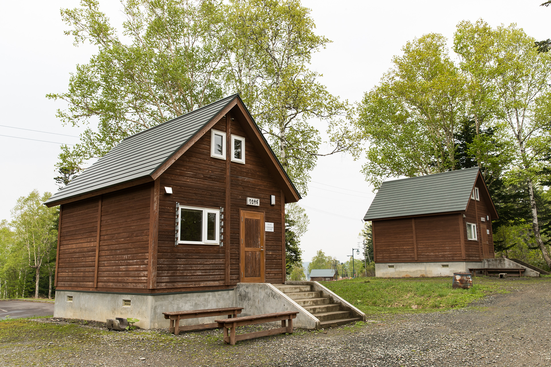 Come and enjoy your stay in the log cabins with your friends and family!